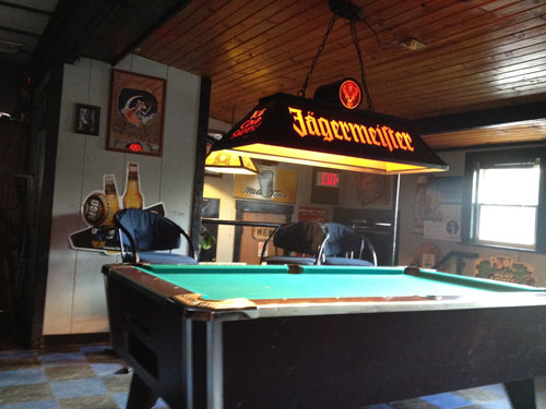 The Pool Table At The Annex