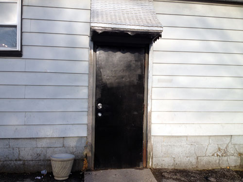 The Back Door To The Annex